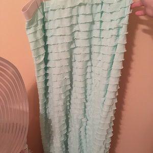 Ruffle shirt:)